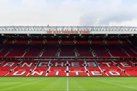 Sir Alex Ferguson Stand at Manchester United Football Club © Manchester United Football