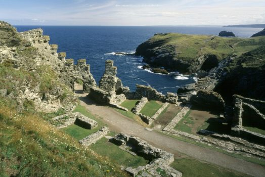 South West Tintagel Cornwall © English Heritage