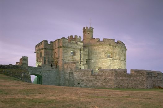 Pendennis Castle in Winter © English Heritage