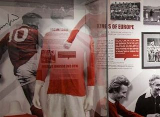 Museum at Manchester United Football Club © Manchester United Football