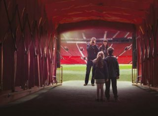 Players Tunnel at Manchester United Football Club © Manchester United Football