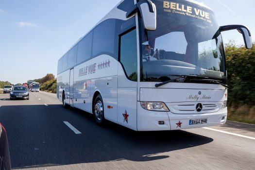 49 Seater Executive Coach motorway