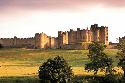 Alnwick Castle Hogwarts Harry Potter England