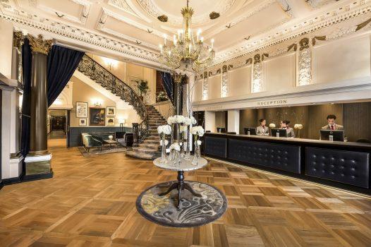 Baileys Hotel reception
