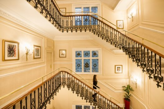 Baileys Hotel grand staircase