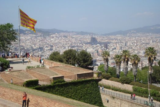 Barcelona from Castell Montjuic