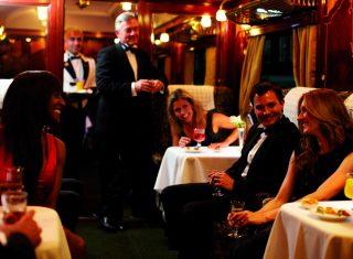 Belmond British Pullman Dinner Restaurant ©Matt Hind