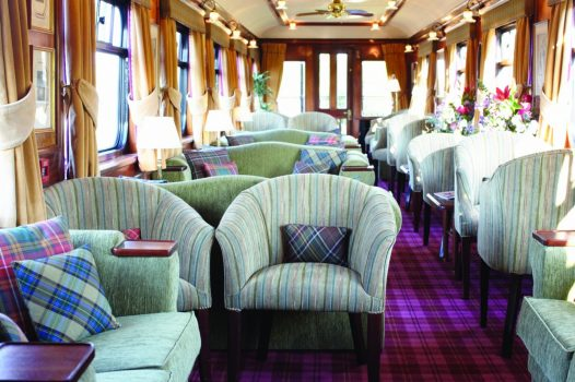 Belmond Royal Scotsman - Observation Lounge ©Matt Hind