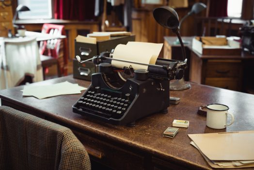 Bletchley-Park-Buckinghamshire-Typewriter-©-Courtesy-of-Shaun-Armstrong-Bureau-for-Visual-Affairs-and-Andy-Stagg-Bletchley-Park-Trust
