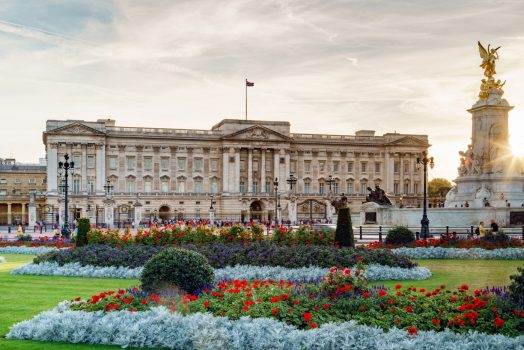 Buckingham Palace, London, Taxi Tour