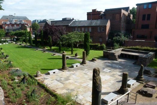 Chester Roman Gardens Cheshire NCN