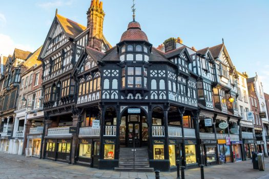 Chester, rows, England, Wales, Country, Castles and country.