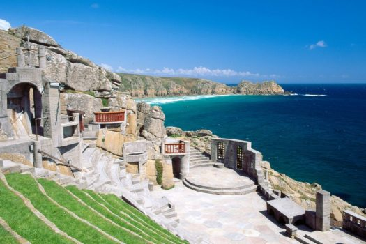 Myth, magic, legend, Minack Theatre, Cornwall, England