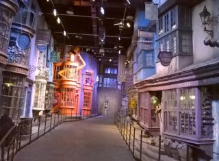 Diagon Alley Warner Bros Studio Tour