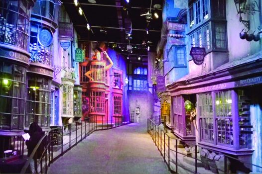 Diagon Alley, Warner Harry Potter tour