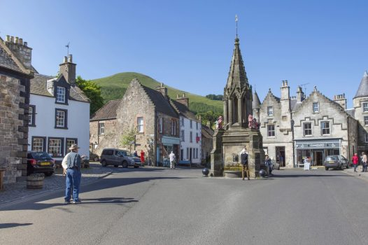 Falkland, Fife, Bruce foundation, Scotland, Outlander