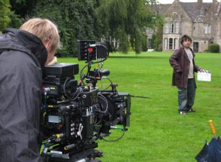 Filming at Chavenage House / poldark