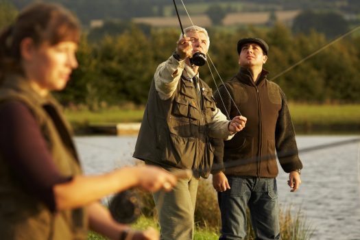 Fishing at Gleneagles Hotel ©Courtesy of Gleneagles