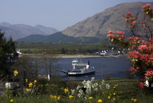 Fort William, Lochaber, Corran, Loch Linnhe, Scotland, Outlander