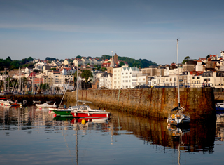 St Peter Port Harbour and seafront ©States of Guernsey