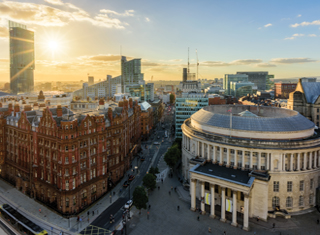 View from One Peters Square, Manchester - Cityscape © Marketing Manchester
