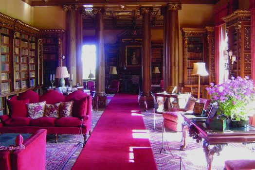 Highclere Castle Library, Hampshire ©HIghclere Castle LLP 2014