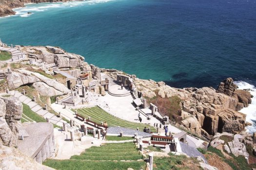 The minack theatre, Cornwall South West of England