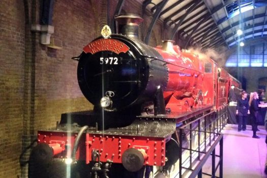 Hogwarts Express from Harry Potter - London Warner Brothers harry potter tour