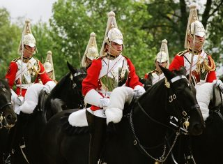Household Cavalry mounted ©Household Cavalry Museum
