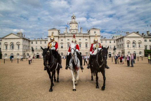Household Cavalry on Horse Guards Parade © Household Cavalry Museum