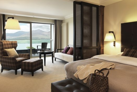 Lake view Bedroom at Europe Hotel (NCN) Killarney