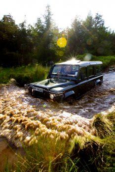 Land Rover Off Road at Gleneagles Hotel ©Courtesy of Gleneagles