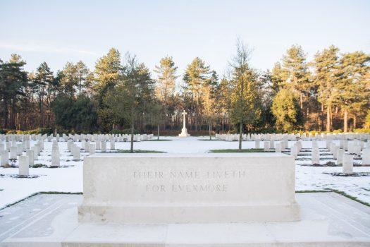 Liberation Route, Netherlands - Bergen op Zoom Canadian War Cemetery (NCN)