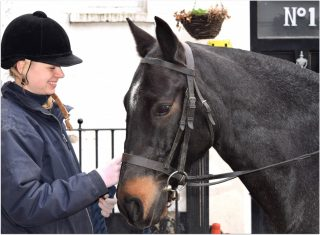 Linda and Blue Hyde Park Stables, London (NCN)
