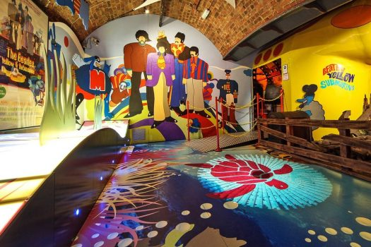Liverpool, North West -Yellow Submarine - The Beatles Story © The Beatles Story