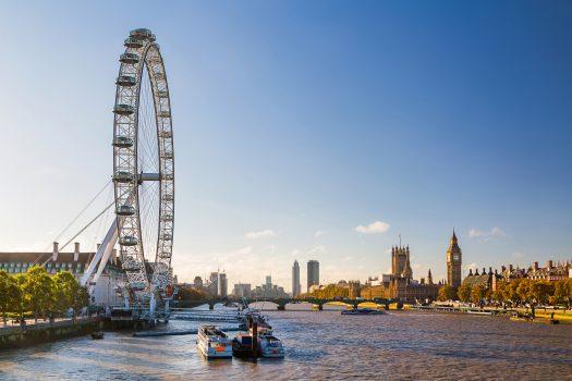 London Eye and Westminster, London (1) © visitlondon.com, Jon Reid EXPIRES 16.9.2021