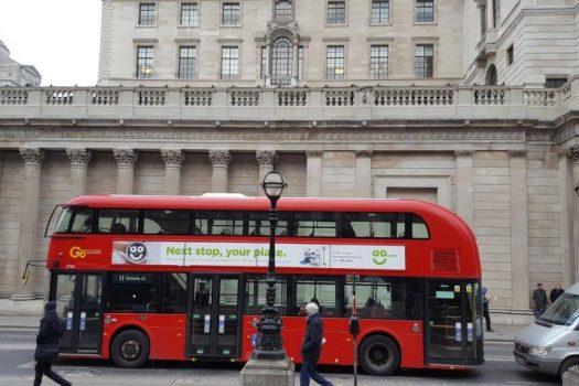 London bank of England & Bus