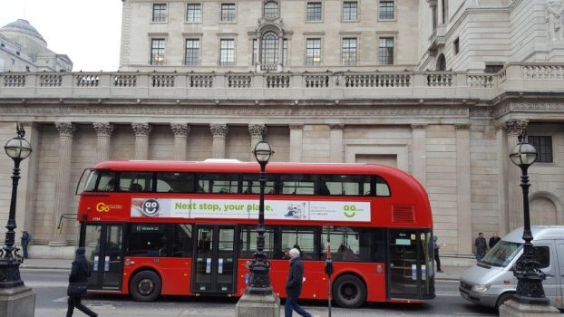 London bank of England & Bus