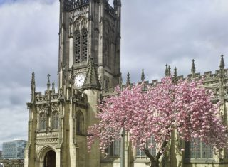 Manchester Cathedral South Tower © Angelo Hornak