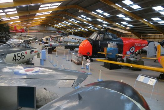 Hangar at Newark Air Museum