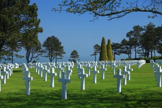 Normandy American Cemetery, Colleville sur Mer ©Atout France_Franck Charel