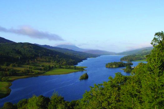 Pitlochry, Queen's View © Photo courtesy of Davy Nelson