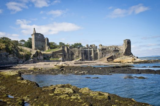 St Andrews Castle, Fife, Scotland - Ruins of the castle of the Archbishops of St Andrews ©VisitScotland, Kenny Lam