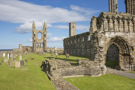 St Andrews Cathedral, Fife, Scotland ©VisitScotland, Kenny Lam