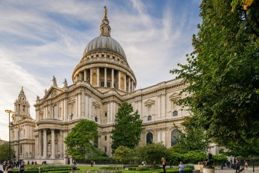 St Paul's Cathedral, London, Taxi Tour