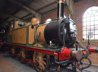 Stepney Railway Engine at Bluebell