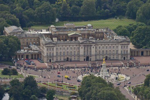 Buckingham Palace ©Courtesy of The London Helicopter