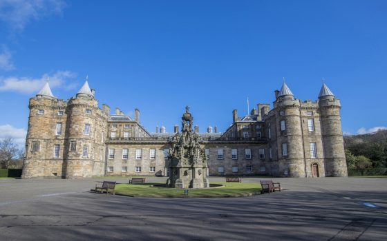 Palace of Holyroodhouse, Edinburgh, Scotland, Outlander