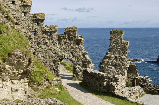 Tintagel Castle, Cornwall © English Heritage