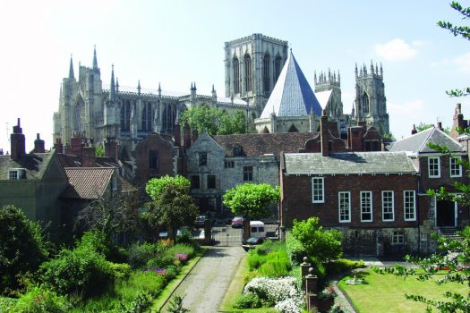 View of York Minster and Treasurers House © Kippa Matthews / VisitYork